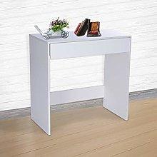 MorNon Single Drawer Table Study Desk Writing