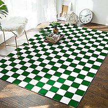 Moroccan Checkerboard Carpet Bedroom Living Room