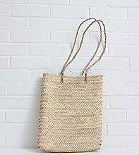 Moroccan Market Basket - Natural Long sisal