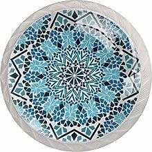 Moroccan Mosaic Pattern Drawer Knobs Pulls Cabinet