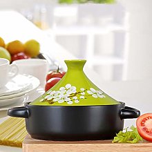 Moroccan Tagine Cooking Pot, Braiser Pan with