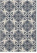 Moroccan Tile Flatweave Indoor/Outdoor Rug