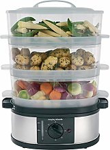 Morphy Richards 3 Tier Food Steamer Three Tier