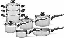 Morphy Richards 979024 Equip 8 Piece Pan Set with