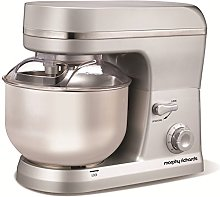 Morphy Richards Accents Stand Mixer - Silver
