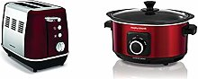Morphy Richards Evoke 2 Slice Toaster 224408 Red