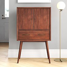 Morris Bar Cabinet Blue Elephant