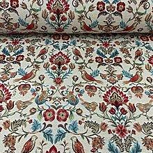 Morris Bird Tapestry Designer Cotton 140cm Wide