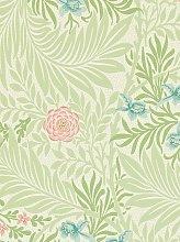 Morris & Co. Bird Larkspur Wallpaper
