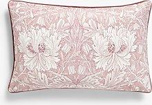 Morris & Co.Honeysuckle & Tulip Velvet Cushion,