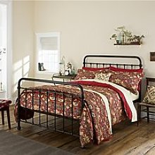 Morris & Co. Strawberry Thief Cotton Bedding, Red