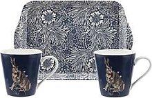 Morris & Co Wightwick Mug And Tray Set