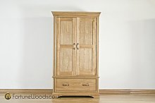 Morriswood 1 Drawer Wardrobe FRW2, One Size