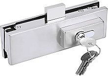 Mortise Lock Stainless Steel Frameless Glass Door