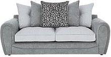 Mosaic Fabric 3-Seater Sofa