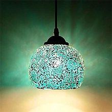 Mosaic Retro Glass Pendant Lamps Coloured