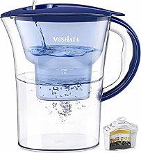 MOSFiATA Water Filter Jug, 2.5L Large Water