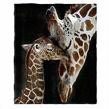 Moslion Soft Cozy Throw Blanket Loving Mother