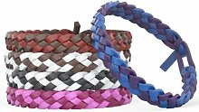 Mosquito Co Insect Repellent Leather Bracelets -