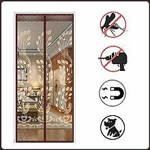 Mosquito Curtain, Magnetic Screen Door, Polyester