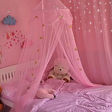 Mosquito Net Square Top Bed Canopy for Kids