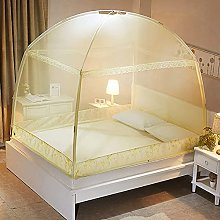 Mosquito Net Tent Foldable Bed Canopy With Fully
