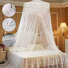 Mosquito Nets, White Lace Bed Canopy Mosquito Net