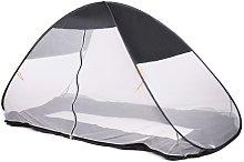 Mosquito Pop-up Bed Tent 200x90x110cm Grey - Grey