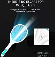 Mosquito Swatter Killer USB Rechargeable