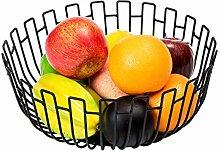 mossFlos Fruit Bowl, Extra-Large Fruit Basket for