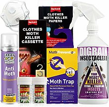 MOTH KILLER KIT for Clothes Moths by