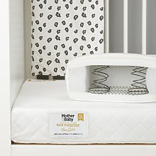 Mother&Baby 140 x 70cm Anti-Allergy Sprung Cot Bed
