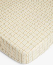 Mother of Pearl Check Linen & Organic Cotton