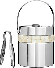 Mother of Pearl Inlay Design Stainless Steel Wine