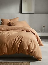 Mother of Pearl Linen & Organic Cotton Duvet Cover