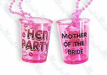 Mother of The Bride Shot Glass Hen Night