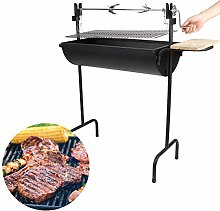 Mothinessto Barbecue Grill Steel Lamb Roasting