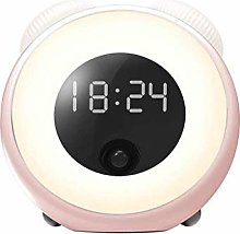 Motion Sensor Alarm Clock With Dimmable Auto-Off
