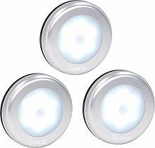 Motion Sensor Light, Searik Battery Powered LED