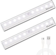 Motion Sensor Wardrobe Light, Mercase 10 LED