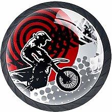 Motocross Motorbike Athlete Cabinet Dresser Drawer