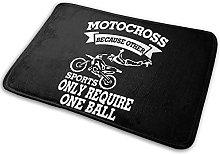Motocross Sports Absorbent Anti skidding Door Mat