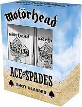 Motörhead Ace of Spades Unisex Shot Glasses Set