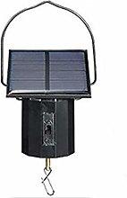Motor Solar Powered Wind Spinner Hanging Metal