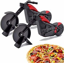 Motorcycle Pizza Cutter -WENTS Stainless Steel