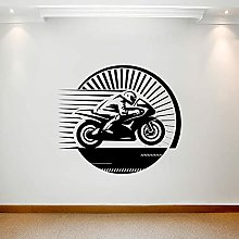 Motorcycle Racing Wall Decal Motorcycle Sports