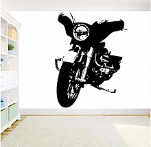 Motorcycle Wall Stickers Motorcyclists Motor Wall