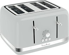 Moulinex LT305E41 4 Slice Toaster - Pepper