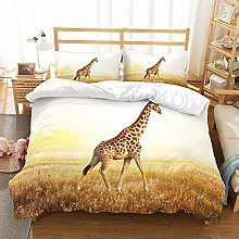 MOUMOUHOME 3D Animal Bedding Set Kids Microfiber