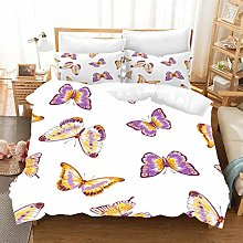 MOUMOUHOME Baby Bedding Sets Girl Yellow Purple
